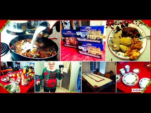 A Maritime Christmas: Xmas party prep & More!