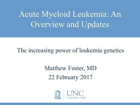 Acute Myeloid Leukemia: An Overview and Updates