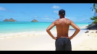 Lanikai Beach & Pillbox Hike - The World's most beautiful beach | Hawaii | DRONE footage by DJI