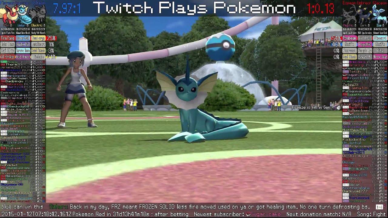 twitch plays pokemon battle revolution betting tips
