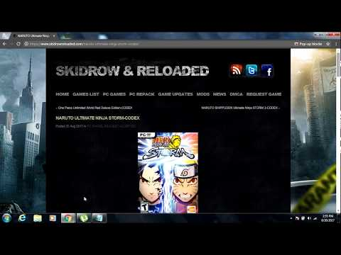 Naruto storm 1 and storm 2 download link pc!!!!