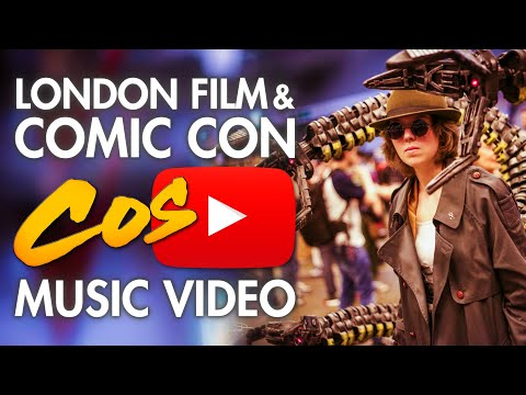 LFCC London Film & Comic Con 2014 - Cosplay Music Video