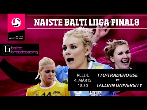 TTÜ/Tradehouse  vs Tallinn University, Women's Baltic League