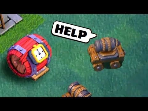 Thumbnail: COC Funny Moments, Glitches, Fails, Wins and Trolls Compilation #2 | CLASh OF CLANS Montage