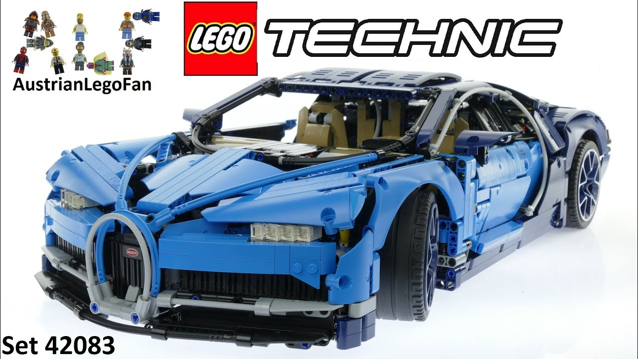 lego technic 42083 bugatti chiron lego 42083 speed build. Black Bedroom Furniture Sets. Home Design Ideas
