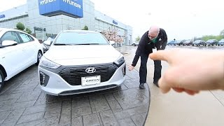 IN DEPTH LOOK 2017 HYUNDAI IONIQ смотреть