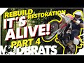 It's ALIVE... Wheelie Time!  Enduro Motorcycle DT Restoration Rebuild FINALLY Complete PART 4