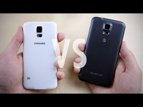 Samsung Galaxy S5: Black vs. White!