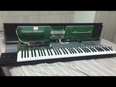 Como abrir o teclado Yamaha Motif XF7 e XS7