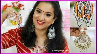 Earrings Options For Rakhi | Raksha Bandhan Special | Perkymegs