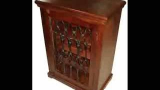 Wooden Wine & Cd Rack, Indian Wooden Furniture Handicraft, Uk,us Furniture