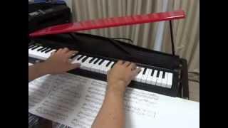こんばんは、ぴけです。 ももいろクローバーZの「しおりん」こと玉井詩織の生誕記念で『・・・愛ですか?』をピアノソロにアレンジしてみました。 小さいピアノ(KORG ...