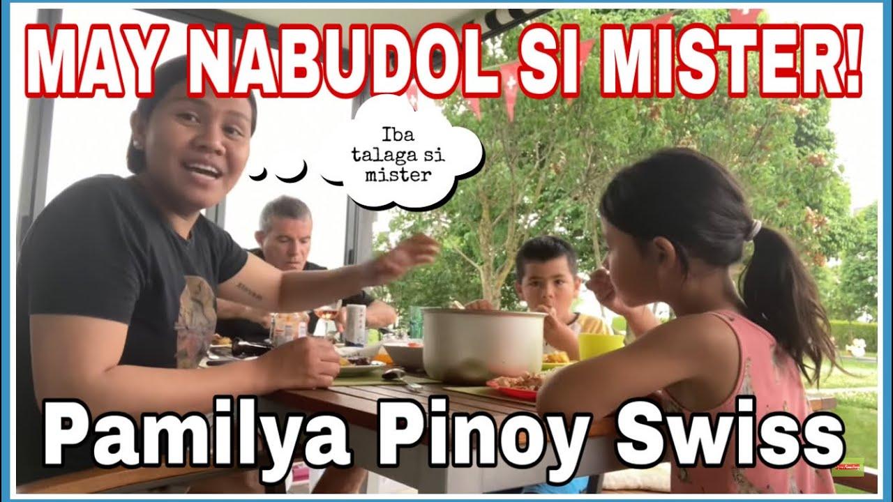 GRABE SI MISTER! MAY BAGO NA ULIT IPHONE 😱  SA LABAS KAMI KUMAIN! Filipino-Swiss family 🇨🇭🇵🇭