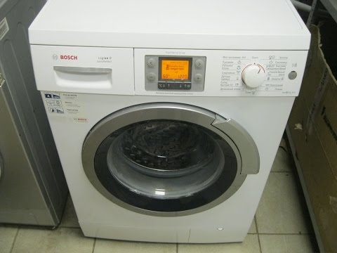 Replacement of the bearing in the Bosch logixx 8 washing machine
