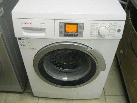 Замена подшипника в стиральной машине Bosch logixx 8