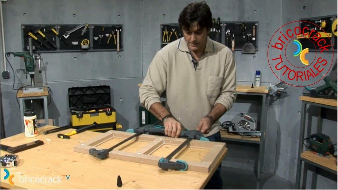Construir puerta para mueble 1 estructura bricocrack for Construir una pileta de material
