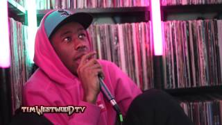 Westwood - Tyler The Creator taking heroin & Meth & wild boar in the studio!