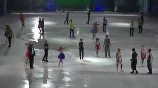 """Олимпийский парк Ледовое шоу """" Огни большого города""""Сочи"""