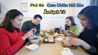 Phở Bò Cơm Chiên Hải Sản Món Việt Đầu Bếp Người Hàn Quốc (Vietnam Rice Noodles)