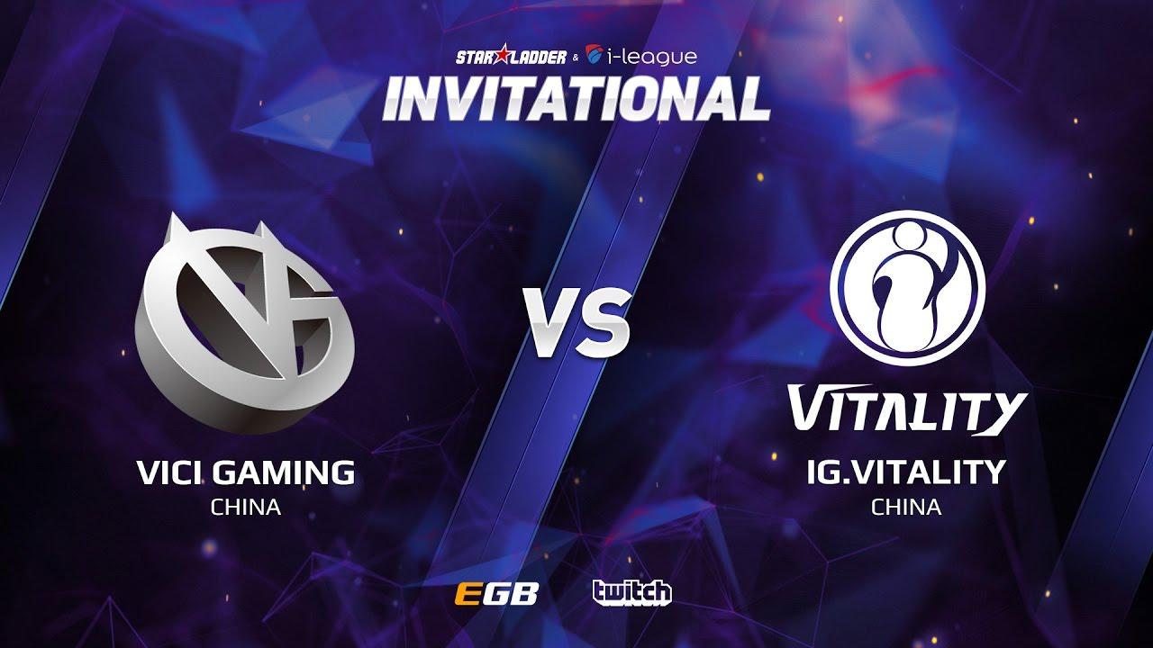 Vici Gaming vs IG.Vitality, Game 1, SL i-League Invitational S2, CN Qualifier