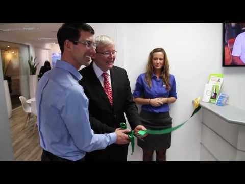 Solar power company, BioSolar, launches its offices with Kevin Rudd - Brisbane, Australia