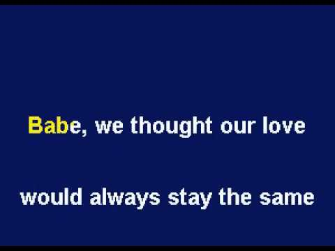 Julio Iglesias Hey, Renamed Babe - English Karaoke by Allen Clewell