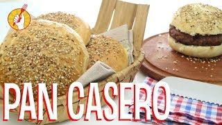 Cómo Hacer Pan de Hamburguesa Casero - Receta Fácil