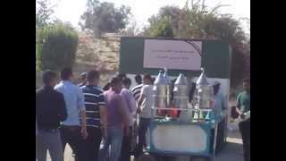 Suez Canal Suez Egypt: reception work requests channel August 2014