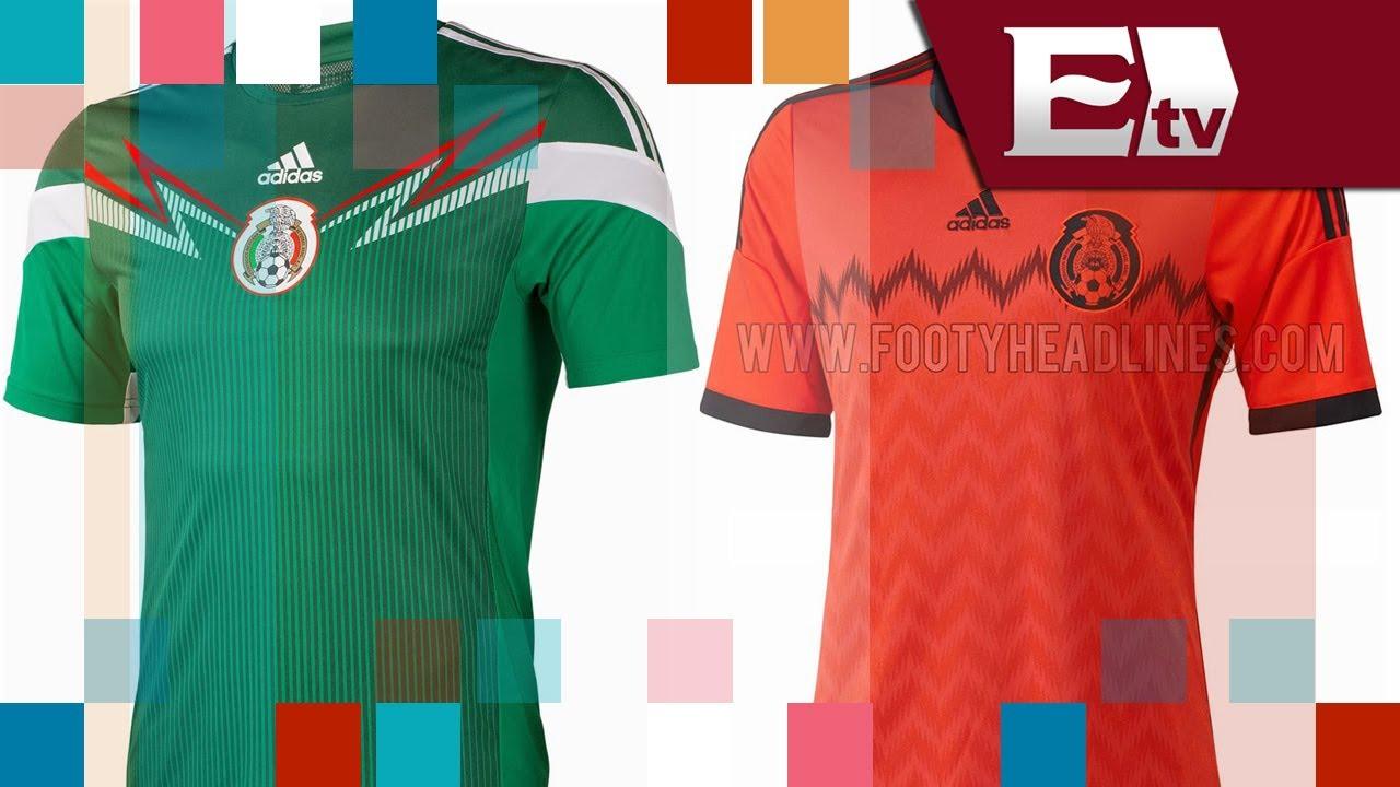 ca33ec25b6445 Los uniformes mundialistas de México para el Mundial Brasil 2014  Entre  Mujeres