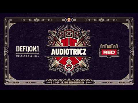The colors of Defqon.1 2017 | RED mix by Audiotricz
