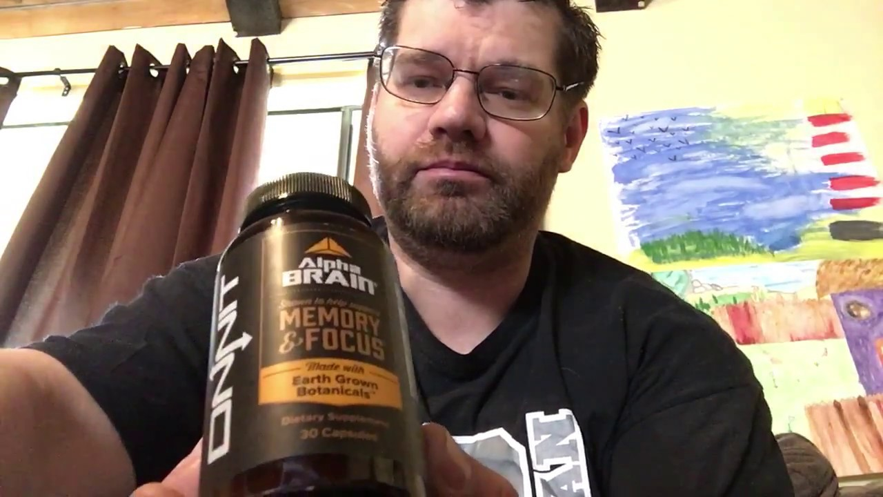 Alpha Brain Memory And Focus Full Review Onnit Labs Youtube