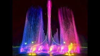 Адлер Поющие фонтаны и Молния   Вторая часть экскурсии на Розу Хутор