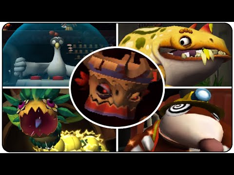Download Youtube: Donkey Kong Country Returns 3D - All Bosses