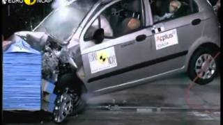 Chevrolet Spark,Matiz - Crash Test.wmv
