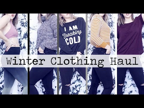 Winter TRY ON Clothing Haul 2018! || ft. ZAFUL, PINK, H&M & more!