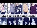 Winter TRY ON Clothing Haul 2018!    ft. ZAFUL, PINK, H&M & more!