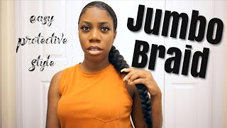 Oh hey friend ! Jumbo Braid