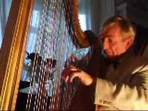 David Watkins harpist plays Sonata by John Parry - Allegro and Rondo