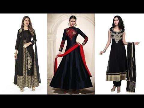 Long Anarkali Gown Dress Designs 2017 (Part 52)