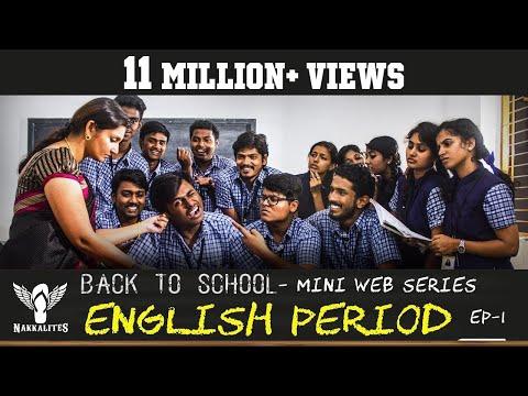 ENGLISH PERIOD - Back to School - Mini Web Series - Season 01 - EP 01 #Nakkalites