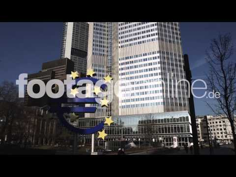 Euro Sign 04 footage 000263 HD