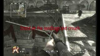 CoD: World At War - Dome Glitches - Out of Map & Camping Spot