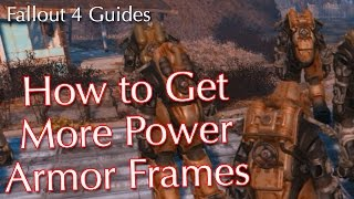 Fallout 4: How to Get More Power Armor Frames
