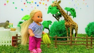 Barbie baby doll videos - Barbie and Ken at the Zoo