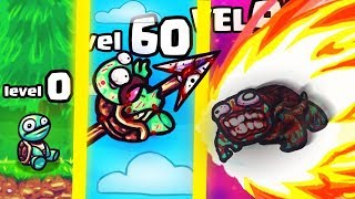 IS THIS THE HIGHEST LEVEL STRONGEST TURTLE TOSS EVOLUTION? (9999+  UPGRADE) l Suрer toss the turtle