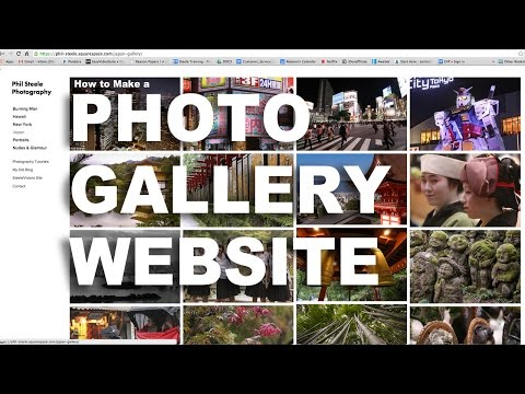 How to Make a Photo Gallery Website The Easy Way