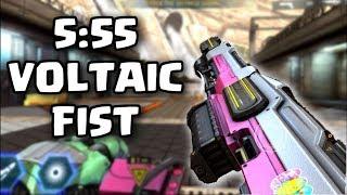 FLAWLESS 5:55 Voltaic Fist + Legendary drop - Shadowgun Legends