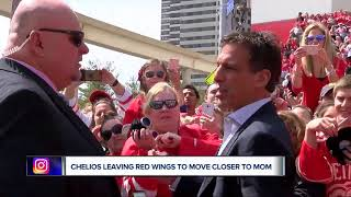Chris Chelios Leaving Red Wings To Move Closer To Mom In Chicago