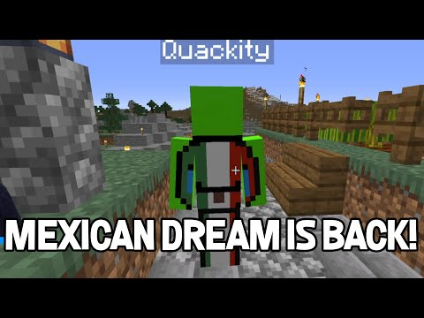 Mexican Dream comes back to life on DreamSMP Lore |