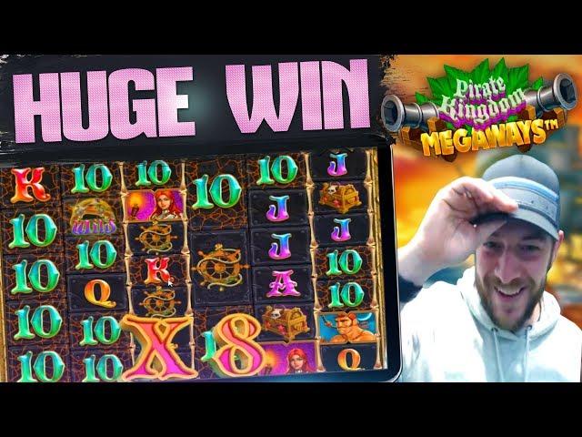 PIRATE KINGDOM MEGAWAYS! - Big Win!